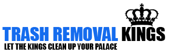 Trash Removal Kings Logo